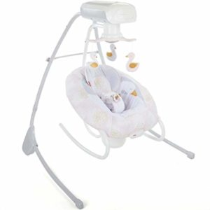 My Sweet Swan 2-in-1 Deluxe Cradle 'n Swing By Fisher-Price