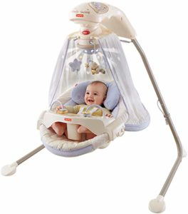 Papasan Cradle Swing By Fisher-Price